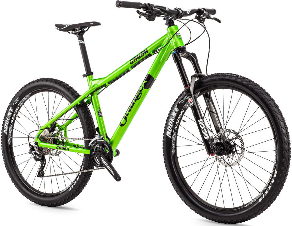 orange crush am 650b hardtail mountain bike 2015 grips bikes. Black Bedroom Furniture Sets. Home Design Ideas