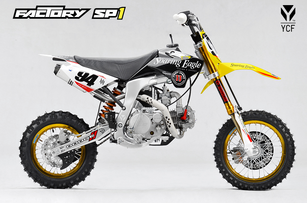 ycf factory sp i f150 roczen replica grips bikes. Black Bedroom Furniture Sets. Home Design Ideas